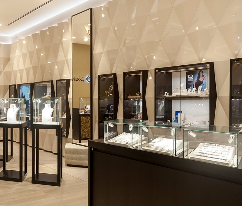 [Translate to English:] Obrist interior AG - Asia Jewellers - Manama - Bahrain