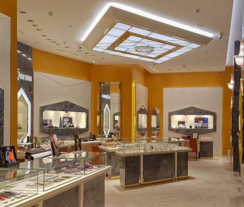OBRIST Interior Al Qurum Jewellery