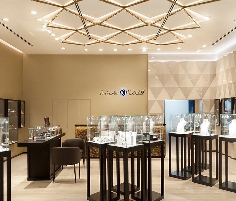 OBRIST Interior Asia Jewellers
