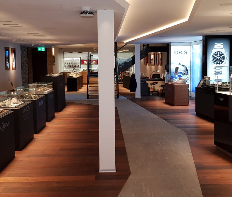 Obrist interior AG - Watches of Switzerland - Interlaken - Switzerland