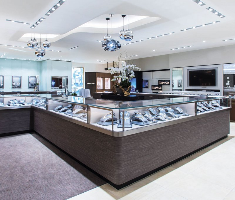 [Translate to English:] Obrist interior AG - Bhindi Jewelers - Artesia California